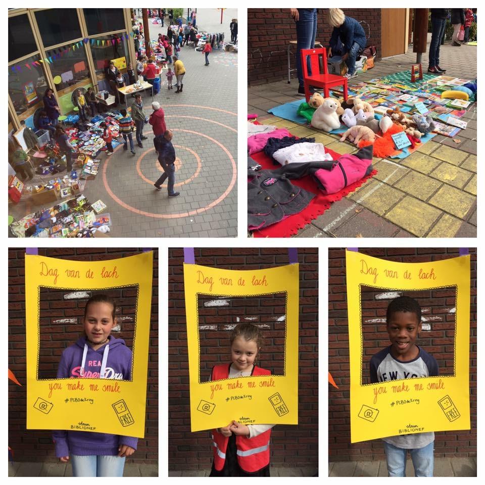 Basischool De Kring houdt beurs voor Biblionef