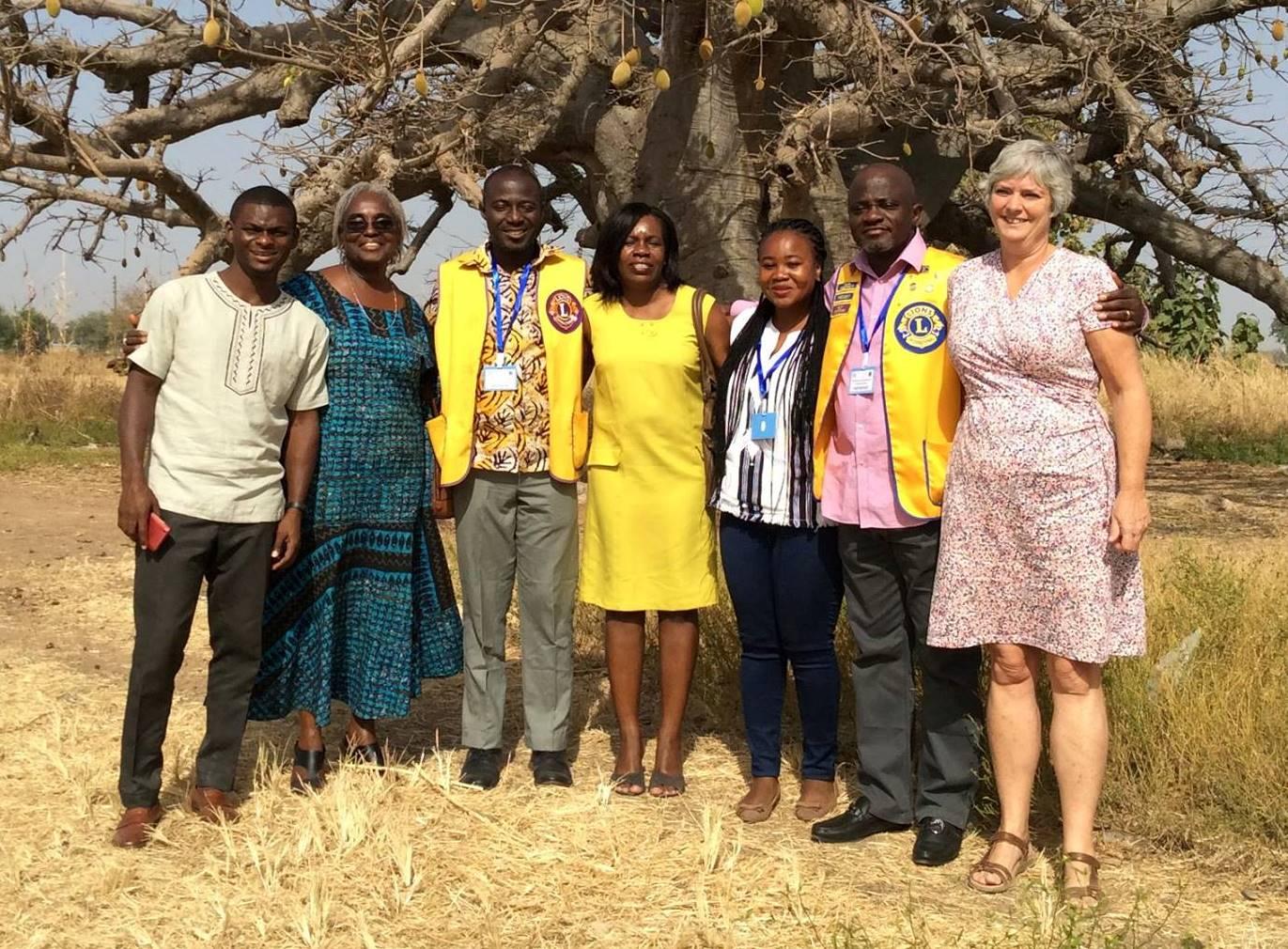 In Ghana wil iedereen een selfie met Wia