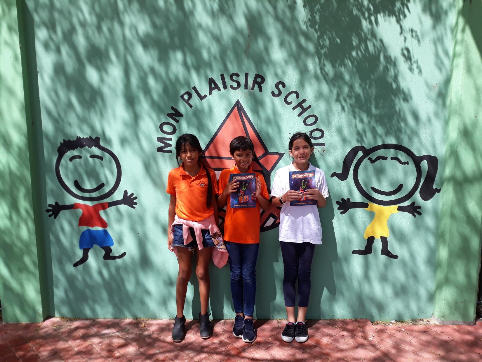 Ondersteuning voor de jonge lezers op de eilanden