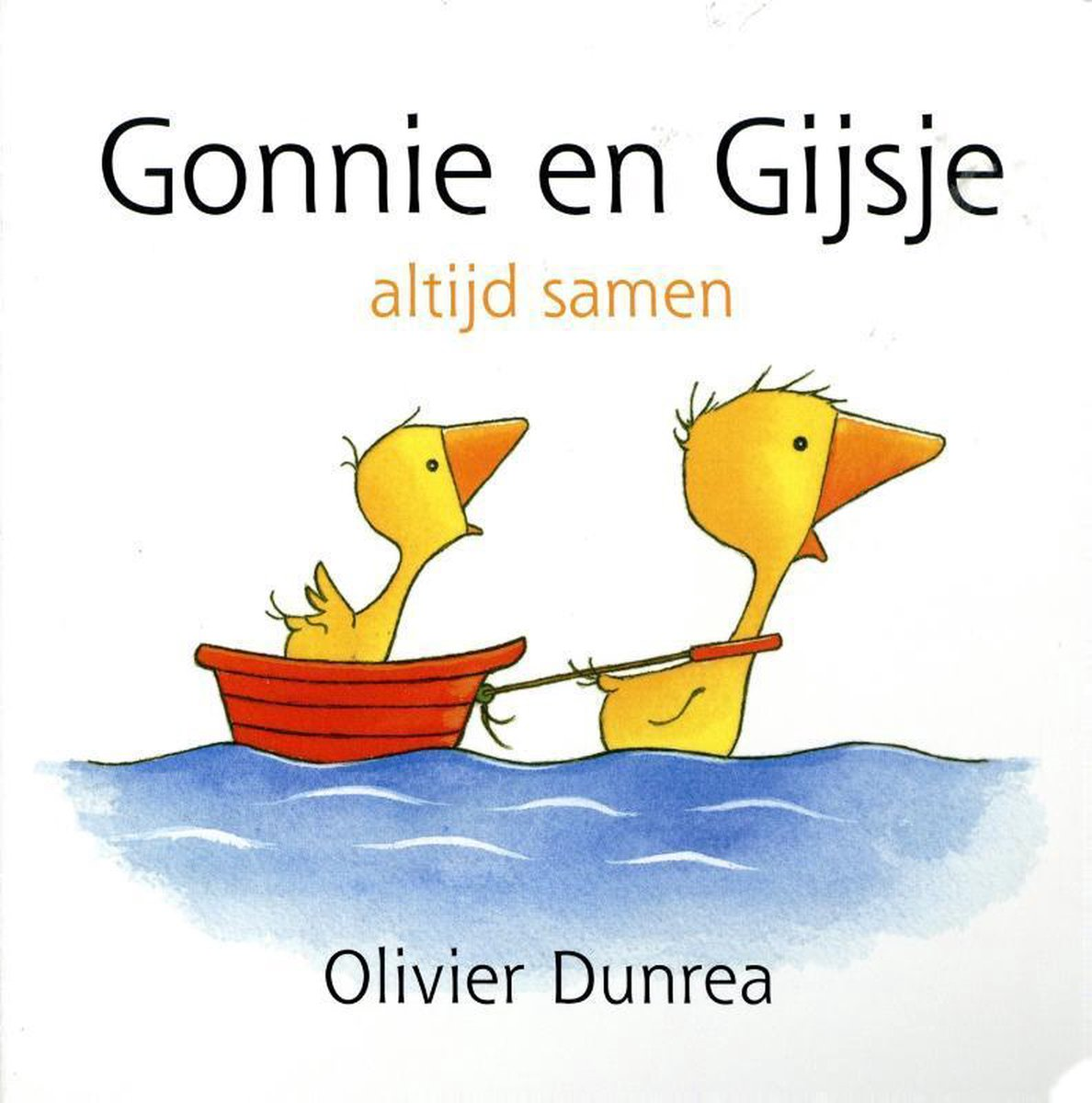 Gonnie en Gijsje: altijd samen